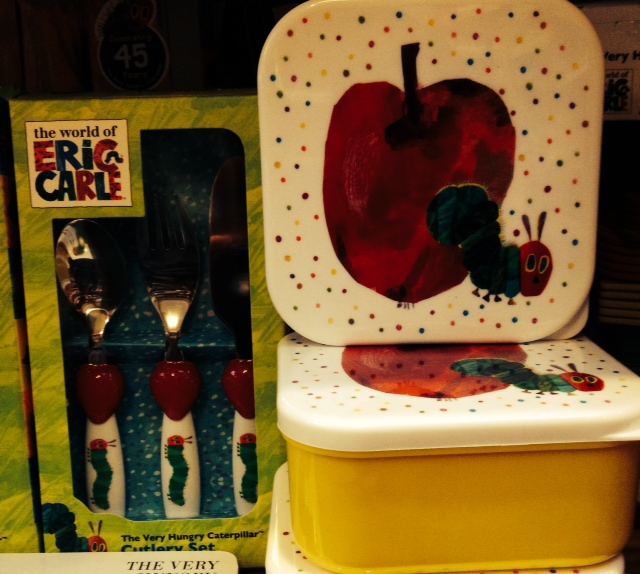 Very Hungry Caterpillar Storage Boxes and Cutlery