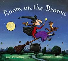room on the broom hardback ed