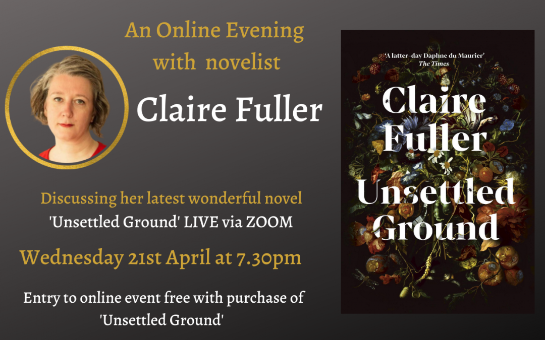 An Online Evening with Novelist Claire Fuller