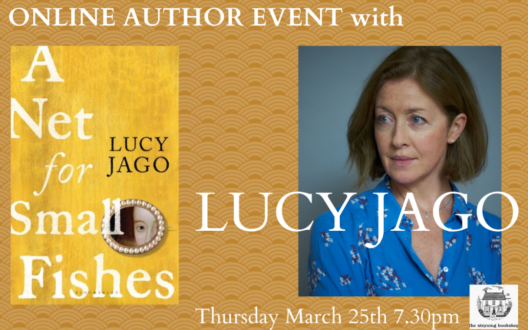 Online Author Event with LUCY JAGO