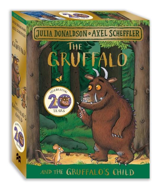 Gruffalo & Gruffalo's Child – luxury boardbook gift slipcase