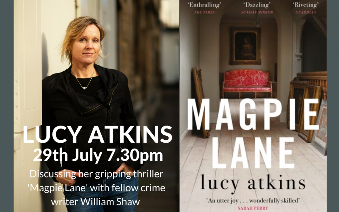 An Online Evening with Lucy Atkins & William Shaw
