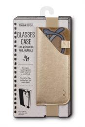 Glasses case - gold
