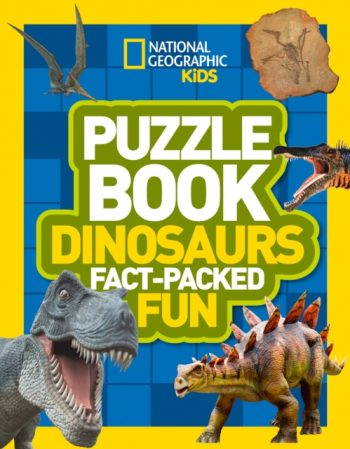 Puzzle Book Dinosaurs : Brain-Tickling Quizzes, Sudokus, Crosswords and Wordsearches