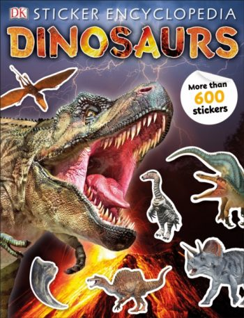 Sticker Encyclopedia Dinosaurs : Includes more than 600 Stickers
