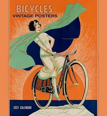 Bicycles Vintage Posters 2021 Wall Calendar