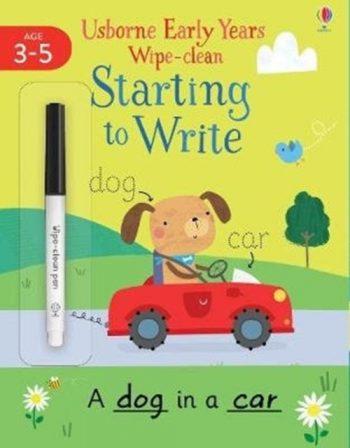 Starting to Write