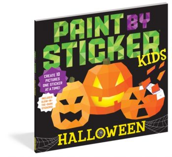 Paint by Sticker Kids: Halloween : Create 10 Pictures One Sticker at a Time! Includes Glow-in-the-Dark Stickers
