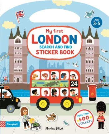 My First London Search and Find Sticker Book