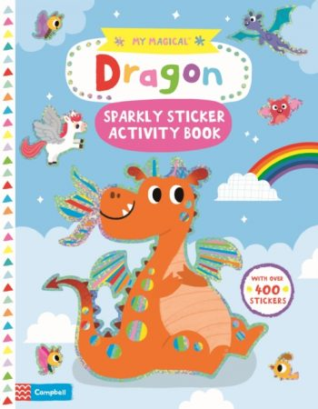 My Magical Dragon Sparkly Sticker Book