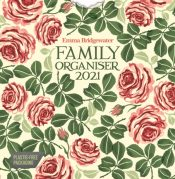 Emma Bridgewater Pink Roses Week-to-View Square Wall Planner Calendar 2021