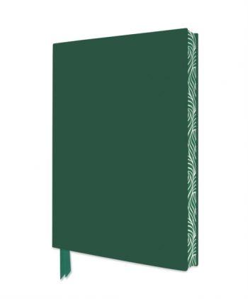 Racing Green Artisan Notebook (Flame Tree Journals)