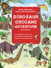 Dinosaur Origami : Dinosaur Origami Papers, Dinosaur Cards and Stickers