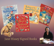 Jane Hissey Signed Books