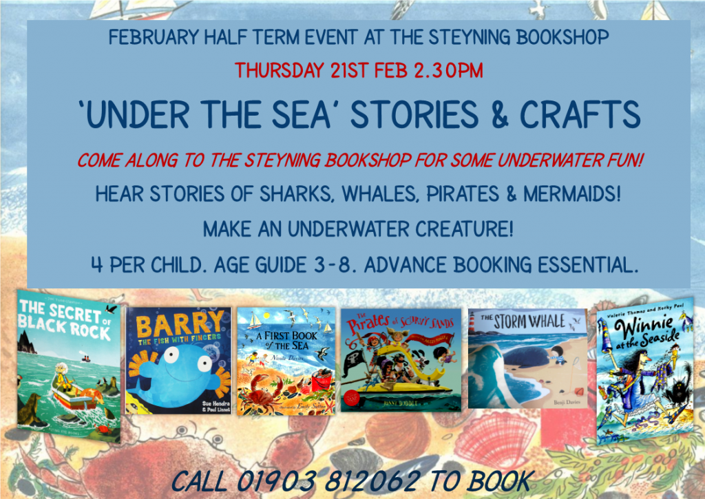 FEB Half Term Under the Sea Crafts & Stories