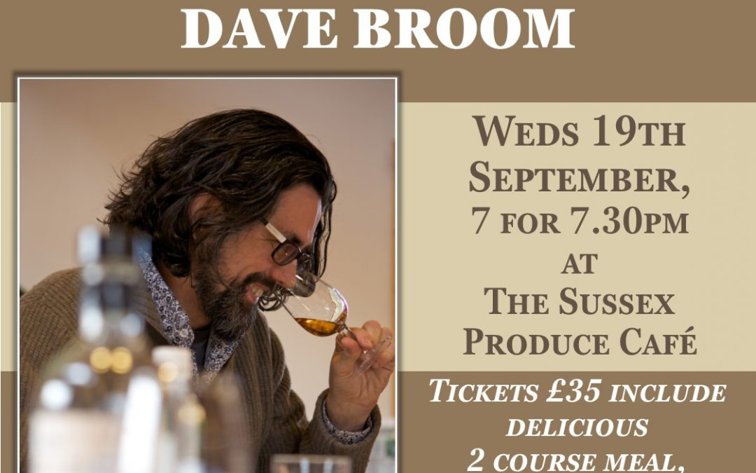 Dinner and Gin-Tasting with Dave Broom