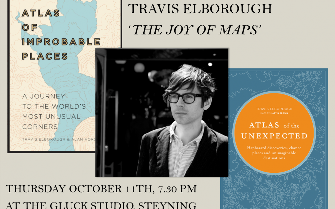 The Joy of Maps with Travis Elborough