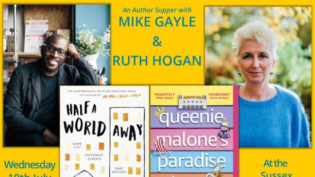 An Author Supper with Mike Gayle and Ruth Hogan