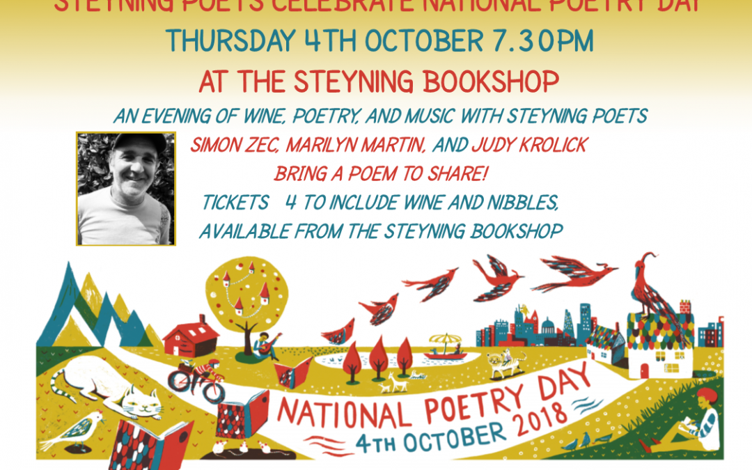 STEYNING POETS CELEBRATE NATIONAL POETRY DAY