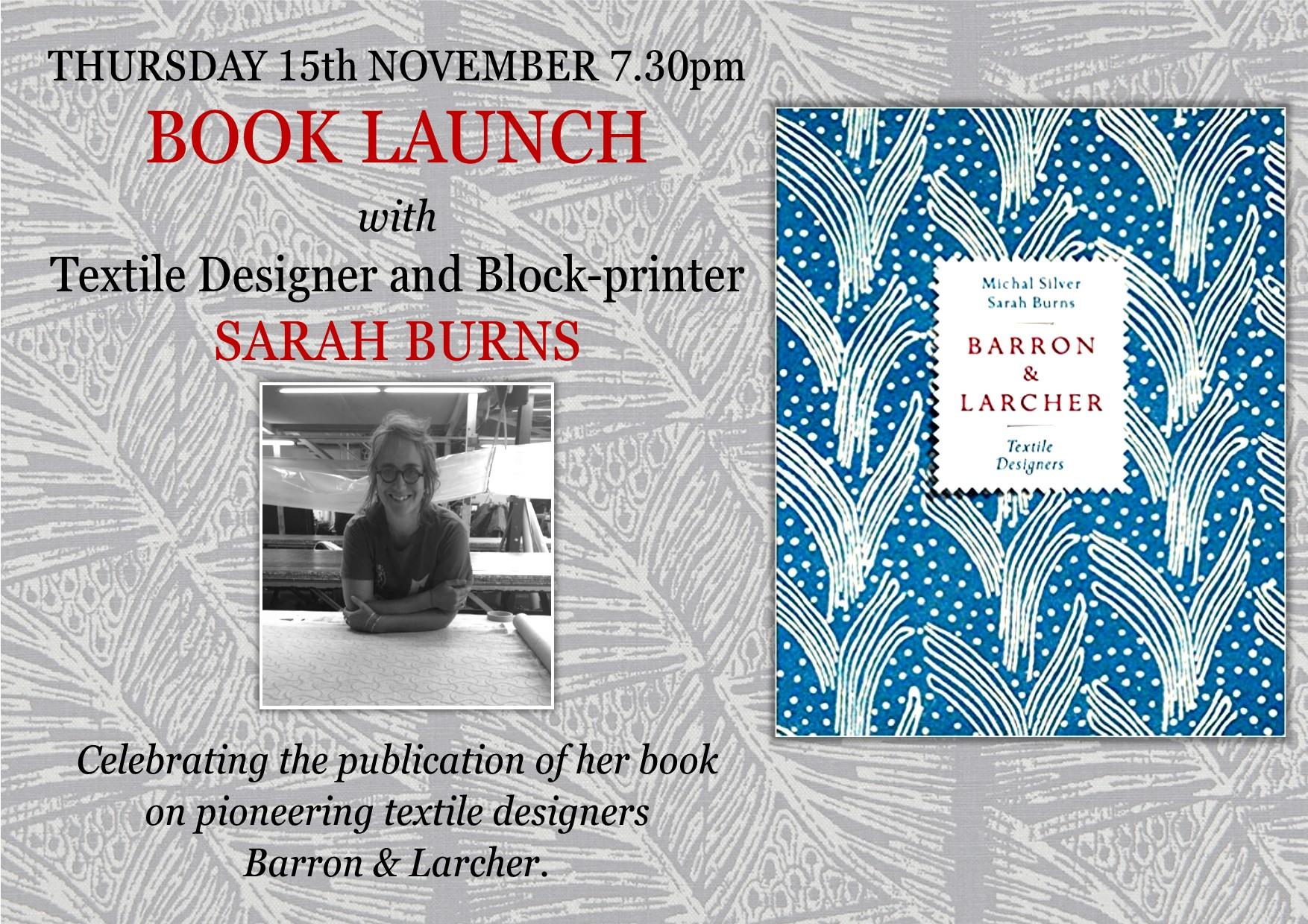 Barron & Larcher Book Launch