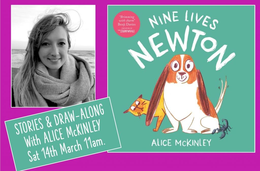 Stories & Draw-Along with Alice McKinley