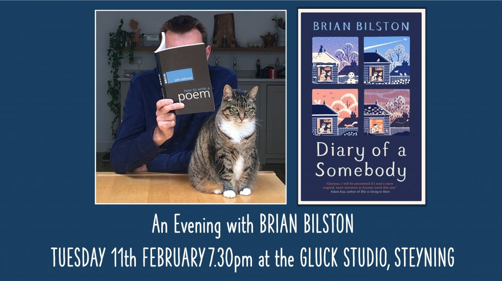 An Evening with Poet and Novelist Brian Bilston