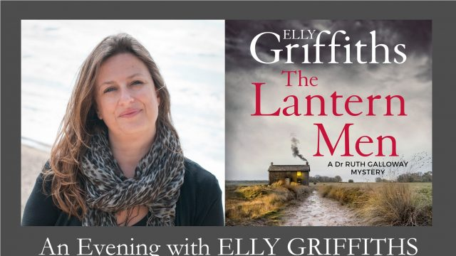 An evening with Elly Griffiths at the Gluck Studio, Steyning