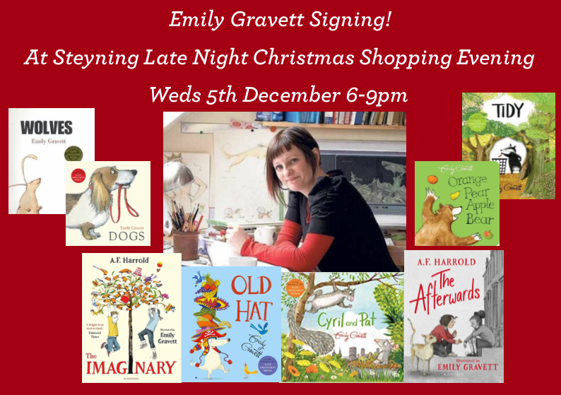Steyning Late Night Shopping Evening with Emily Gravett