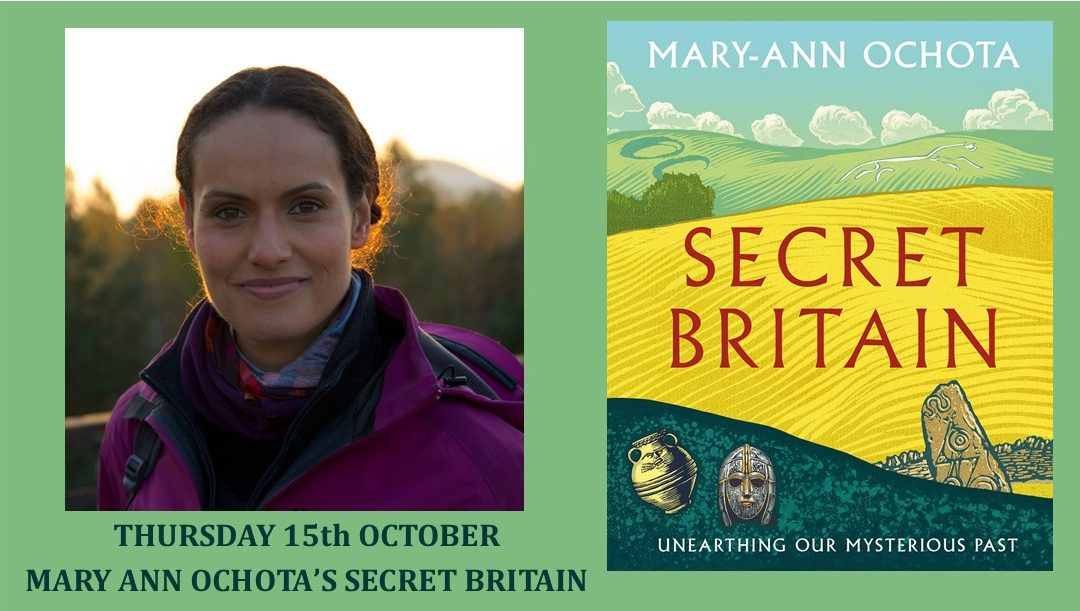 Mary Ann Ochota's Secret Britain – Virtual Event!