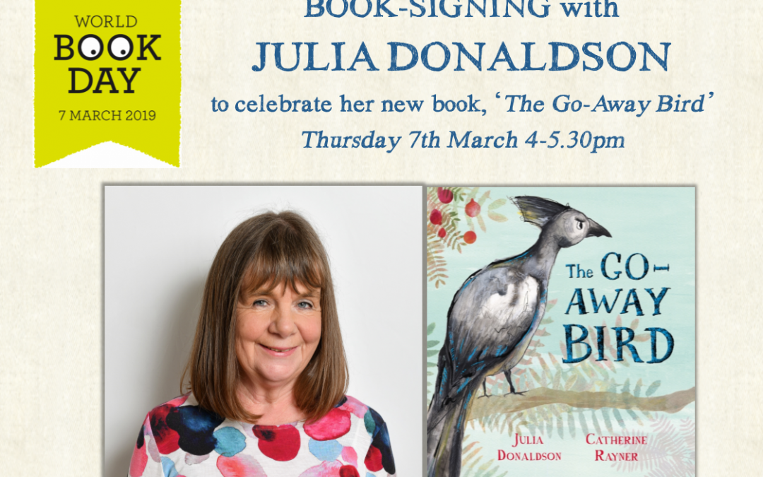 World Book Day Book Signing with Julia Donaldson