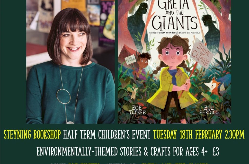 'Greta and the Giants' – Environmental Stories & Crafts with Zoe Tucker