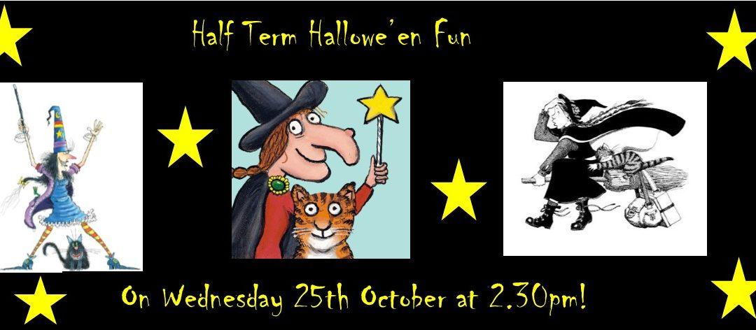 Half Term Hallowe'eny Fun