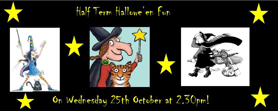 Halfterm Hallowe'en Fun!
