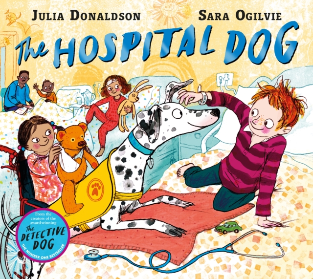 Virtual Signing for 'Hospital Dog' with Julia Donaldson