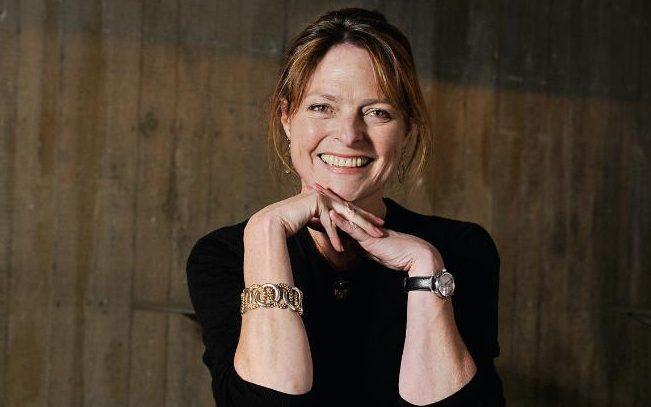 TV presenter and novelist Janet Ellis