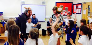 Julia Donaldson at Steyning Primary School