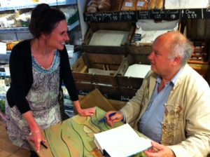 Louis de Bernieres at The Sussex Produce
