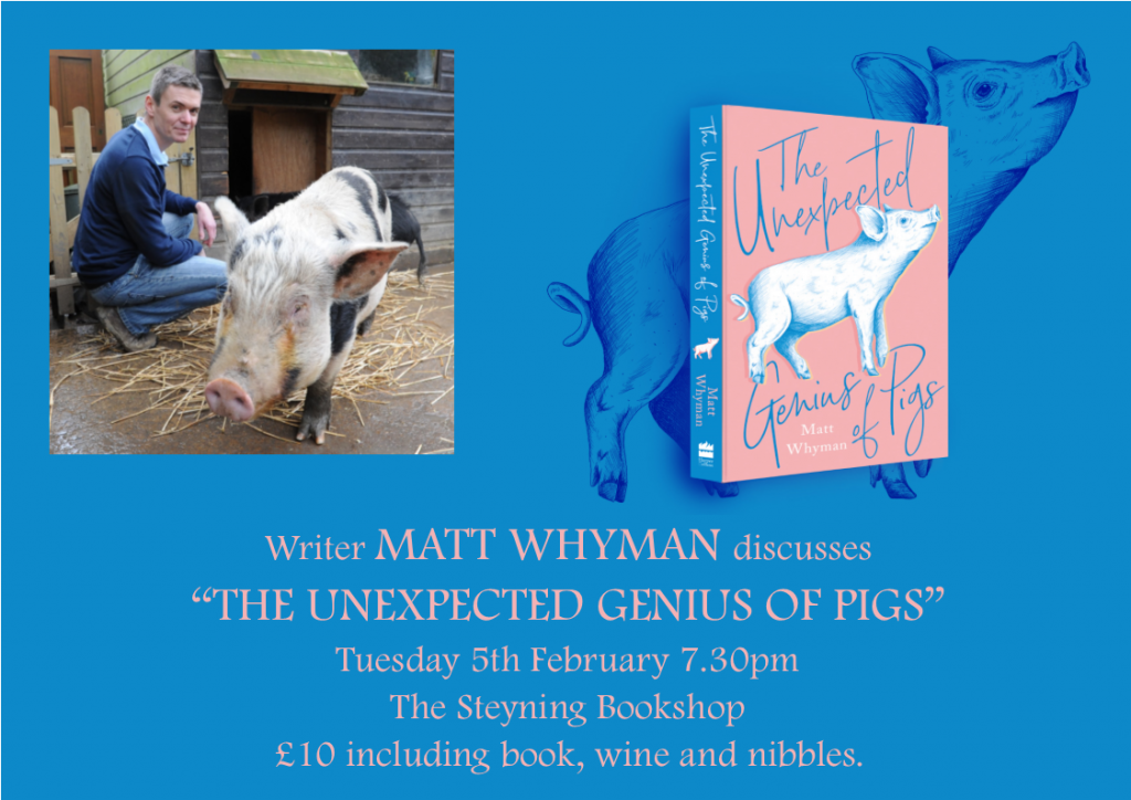 Matt Whyman The Unexpected Genius of Pigs