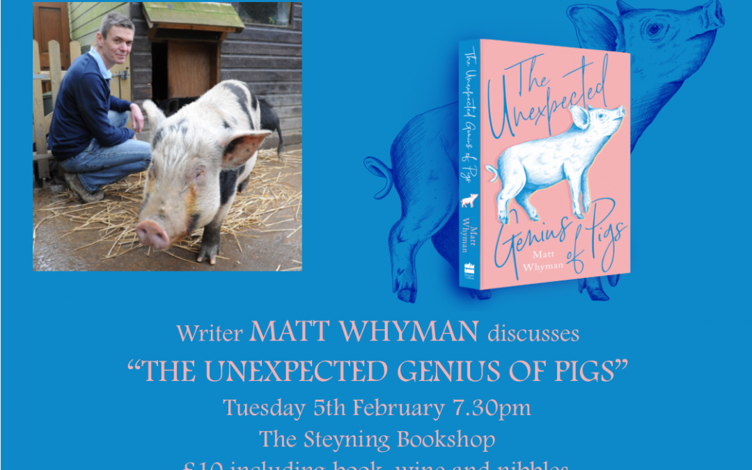The Unexpected Genius of Pigs with Matt Whyman