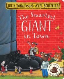 The Smartest Giant in Town Board Book