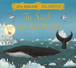 Snail & the Whale with Festive cover