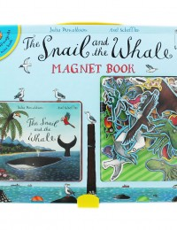 snail whale magnet book