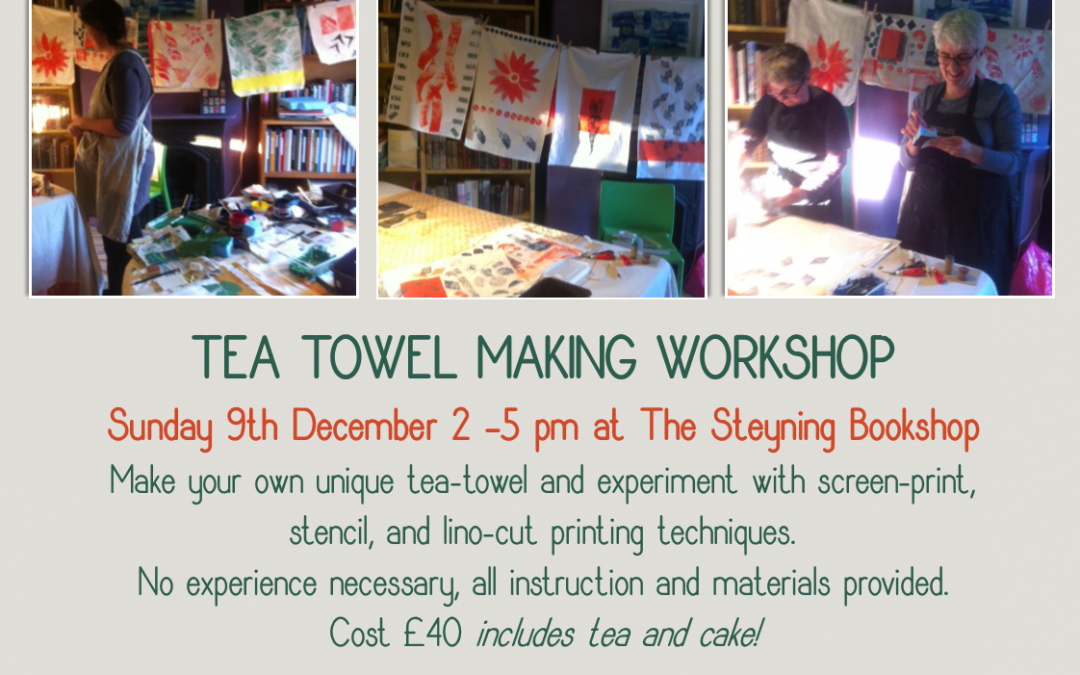 Tea Towel Workshop with Sarah and Alice
