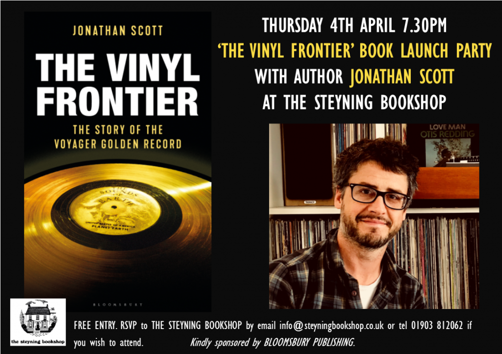 Vinyl Frontier Book Launch