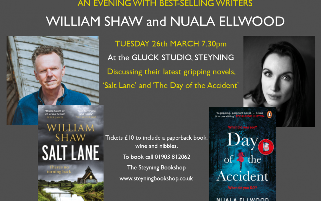 An Evening with William Shaw and Nuala Ellwood