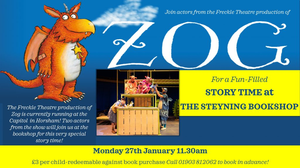 Zog Story Time